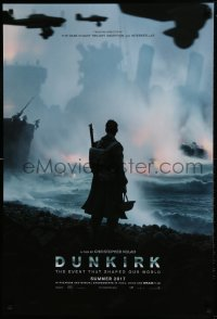 2662UF DUNKIRK teaser DS 1sh 2017 Christopher Nolan, Tom Hardy, Murphy, event that shaped our world!