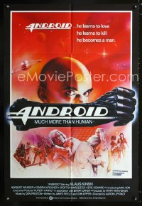 0823FF ANDROID English 1sh '82 great completely different sexy sci-fi artwork!
