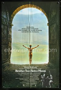 0825FF BROTHER SUN SISTER MOON English 1sh '73 Franco Zeffirelli's Fratello Sole, Sorella Luna!