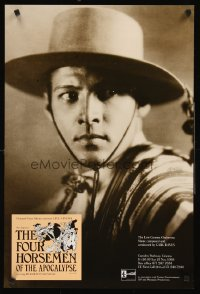 1247UF FOUR HORSEMEN OF THE APOCALYPSE English double crown R92 best c/u of Rudolph Valentino!