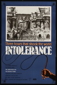 1248UF INTOLERANCE English double crown R88 D.W. Griffith, 3 hours that shook the world, different!