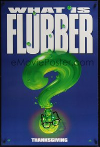 0155UF FLUBBER DS teaser 1sh '97 Walt Disney, Robin Williams is the Absent Minded Professor!