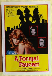 158TF FORMAL FAUCETT one-sheet '76 sexy Dorothy Le May!
