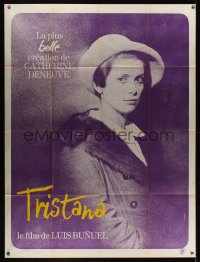 1182FF TRISTANA French 1p '70 Luis Bunuel, great image of Catherine Deneuve by Ferracci!