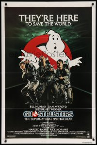 2130FF GHOSTBUSTERS int'l 1sh '84 Bill Murray, Aykroyd & Harold Ramis are here to save the world!