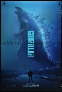 2675UF GODZILLA: KING OF THE MONSTERS teaser DS 1sh 2019 great full-length image of the creature!