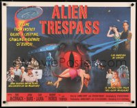 2434UF ALIEN TRESPASS 1/2sh '09 creepying, crawling nightmare of terror, can mankind be saved!