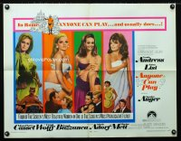 0620FF ANYONE CAN PLAY 1/2sh '68 sexiest near-naked Ursula Andress, Virna Lisi, Auger & Mell!