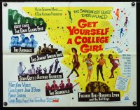 0626FF GET YOURSELF A COLLEGE GIRL 1/2sh '64 hip-est happiest rock & roll show, Dave Clark 5 & more!