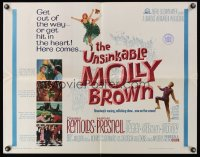 1100FF UNSINKABLE MOLLY BROWN 1/2sh '64 Debbie Reynolds, get out of the way or hit in the heart!