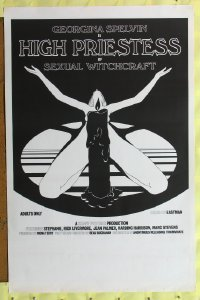 609UF HIGH PRIESTESS OF SEXUAL WITCHCRAFT 1sh '73 wild!