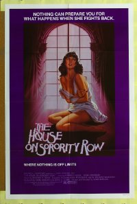 204FF HOUSE ON SORORITY ROW 1sheet '82 cool sexy image!