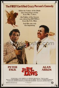 0212FF IN-LAWS 1sh '79 classic Peter Falk & Alan Arkin screwball comedy. great image!