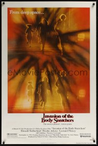 0219UF INVASION OF THE BODY SNATCHERS style A 1sh'78 Philip Kaufman classic remake of space invaders