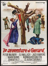 1172FF ADVENTURES OF GERARD Italian 1p '70 Arthur Conan Doyle, Jerzy Skolimowski, different art!
