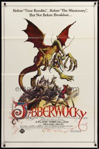 1427TF JABBERWOCKY 1sh R82 Terry Gilliam, Monty Python, great wacky fantasy art!