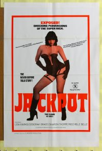 223FF JACKPOT one-sheet poster '78 sexy Lisa Marks!