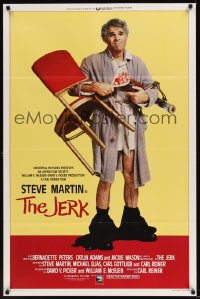 0224TF JERK 1sh '79 wacky Steve Martin is the son of a poor black sharecropper!
