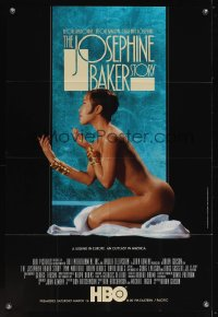 0972FF JOSEPHINE BAKER STORY TV 1sh '91 sexy naked Lynn Whitfield in the title role!