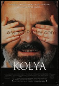 2218UF KOLYA 1sh '97 Czech Academy Award winner, the perfect grouch is about to meet his match!