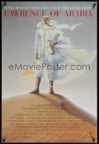 0250UF LAWRENCE OF ARABIA int'l 1sh R89 David Lean classic, great different art of Peter O'Toole!