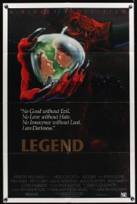 0980FF LEGEND int'l 1sh '86 Tom Cruise, Mia Sara, directed by Ridley Scott, cool fantasy artwork!