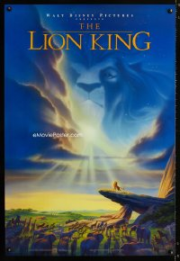 726UF LION KING DS 1sheet '94