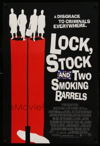 2239UF LOCK, STOCK & TWO SMOKING BARRELS DS 1sh '98 Guy Ritchie English crime comedy, great art!