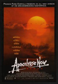 1265UF APOCALYPSE NOW mini poster R01 revised version with two major formerly cut scenes, Bob Peak!