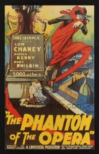 1266 PHANTOM OF THE OPERA 51 promo postcards '91 Lon Chaney, best art from the original one-sheet!