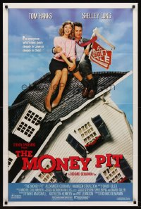 2270FF MONEY PIT 1sh '86 produced by Steven Spielberg, Tom Hanks, Shelley Long