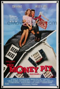 2271UF MONEY PIT 1sh '86 Steven Spielberg, Tom Hanks & Shelley Long are deeply in love & debt!