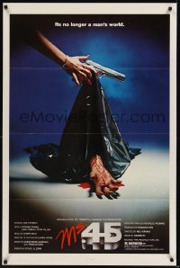 277TF MS 45 'bloody hand' style 1sheet '81 Abel Ferrara
