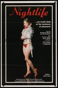 295FF NIGHTLIFE one-sheet '83 sexy Bridgette Monet