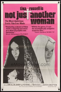 1447TF NOT JUST ANOTHER WOMAN 1sh '74 cool images of Tina Russell as Sister Conception!