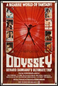 1448TF ODYSSEY 1sh '77 Gerard Damiano's ultimate trip, a bizarre world of sexploitation fantasy!