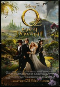 2299UF OZ: THE GREAT & POWERFUL advance DS 1sh '13 Raimi, James Franco, Mila Kunis, Rachel Weisz!