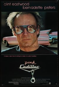 1605UF PINK CADILLAC 1sh '89 Clint Eastwood is a real man wearing really cool shades!