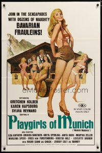 1459TF PLAYGIRLS OF MUNICH 1sh '77 join the sexcapades with dozens of naughty Bavarian frauleins!
