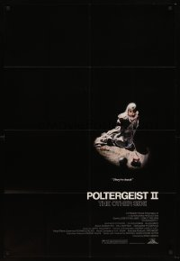 2302FF POLTERGEIST II 1sh '86 Heather O'Rourke, The Other Side, they're baaaack!