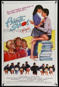 2307UF PRIVATE SCHOOL 1sh '83 Phoebe Cates, Modine, you won't believe what goes on & what comes off!