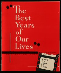 2628 BEST YEARS OF OUR LIVES promo book '46 Dana Andrews, Teresa Wright, William Wyler classic!