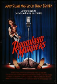 2313UF RADIOLAND MURDERS 1sh '94 Brian Benben, Mary Stuart Masterson, the hits just keep coming!