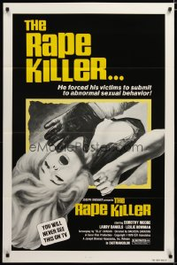1465TF RAPE KILLER 1sh '76 sex horror, you will never see this on TV!