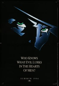 2351UF SHADOW teaser 1sh '94 Alec Baldwin knows what evil lurks in the hearts of men!