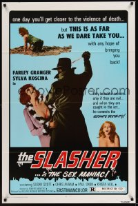0379TF SLASHER 1sh '74 wild photographic style!