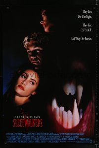 1622UF SLEEPWALKERS int'l 1sh '92 Stephen King, Brian Krause, Madchen Amick Alice Krige!