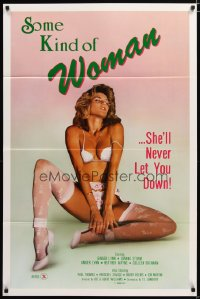 1483TF SOME KIND OF WOMAN 1sh '85 sexy Ginger Lynn adult actress never lets you down!