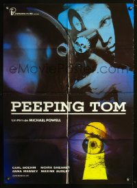 1188FF PEEPING TOM Spanish R70s Michael Powell English classic, cool voyeur image!