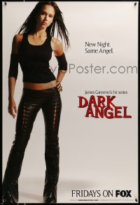 2445UF DARK ANGEL TV poster '01 directed by James Cameron, full-length sexy Jessica Alba!